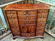 Chest of drawers AFTER restoration.  Click for a larger image