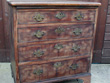 Chest of drawers prior to restoration.  Click for a larger image